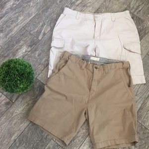 Other - Men's cargo shorts lot of 2 size 28